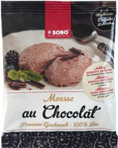 Mousse au Chocolat Sobo Naturkost bio Nachtisch Dessert