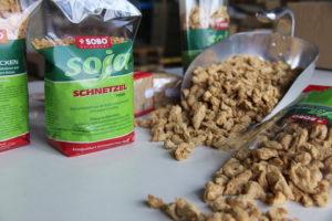 Sobo Naturkost Soja Schnitzel glutenfrei bio vegan fleischersatz vegetarisch