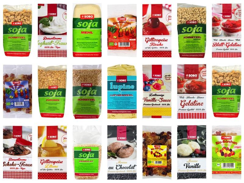 Sobo Naturkost Produkte