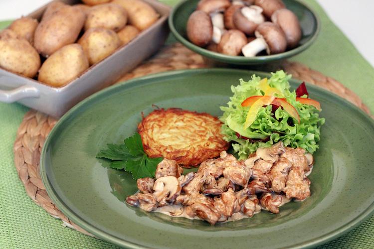 Rezept Soja-Geschnetzeltes Sobo Naturkost Soja-Schnetzel vegetarisch